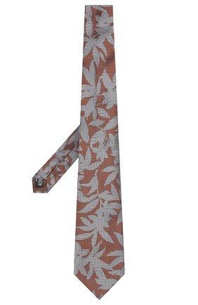 Мужской шелковый галстук GIORGIO ARMANI разноцветного цвета, арт. 360054/9P936 | Фото 2