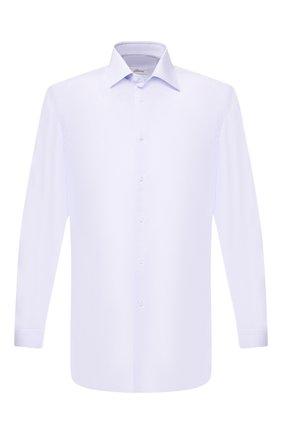 Мужская хлопковая сорочка BRIONI голубого цвета, арт. RCLU36/PZ005 | Фото 1