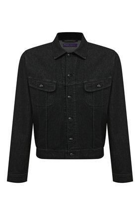 Мужская куртка RALPH LAUREN черного цвета, арт. 790613026 | Фото 1