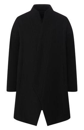 Пальто из смеси шерсти и льна   Фото №1
