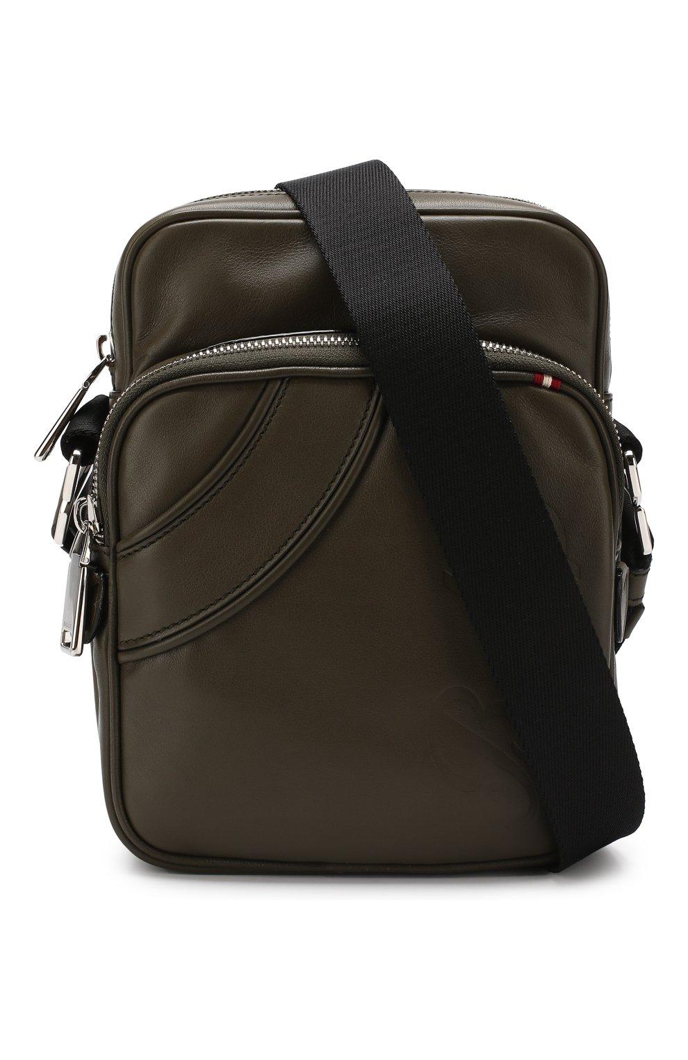 bdba8516a16e Мужская хаки кожаная сумка-планшет ace BALLY — купить за 42300 руб ...
