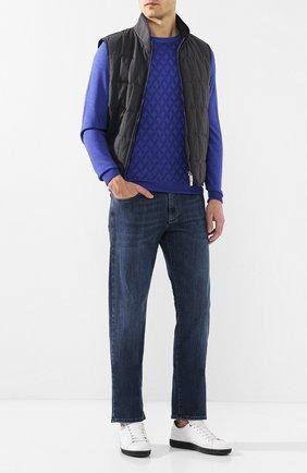 Мужские джинсы CANALI синего цвета, арт. 91700R/PD00003 | Фото 2