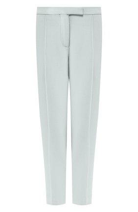 Женские шерстяные брюки BOTTEGA VENETA светло-зеленого цвета, арт. 546071/VAI30 | Фото 1