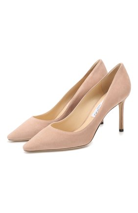 Замшевые туфли Romy 85 | Фото №1