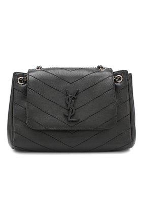 Сумка Nolita small Saint Laurent черная цвета | Фото №1