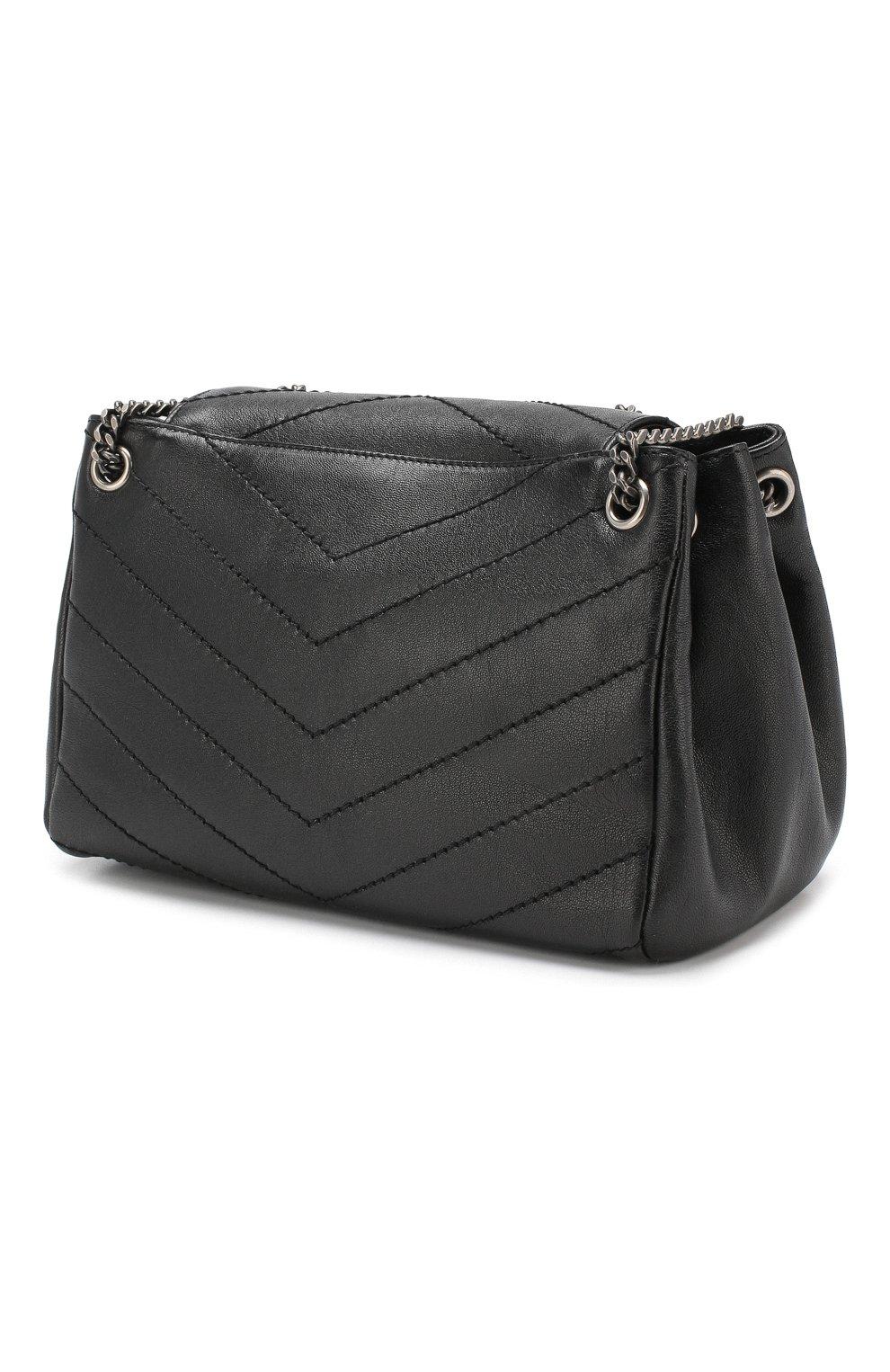 Сумка Nolita small Saint Laurent черная цвета | Фото №3