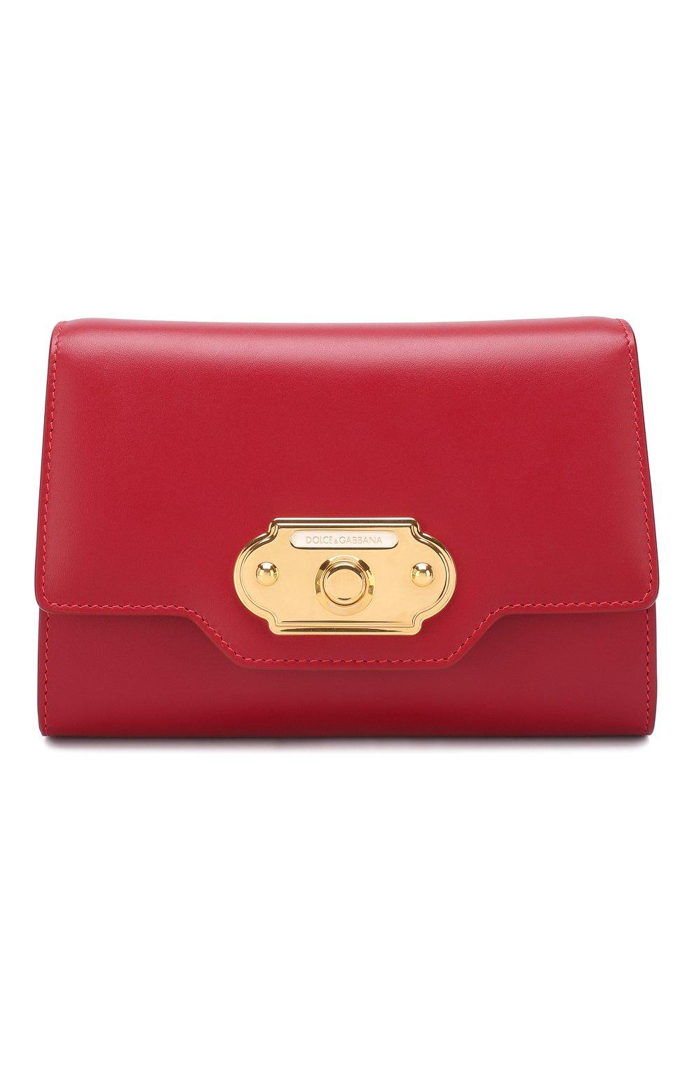 Сумка Welcome Dolce & Gabbana красная цвета   Фото №1