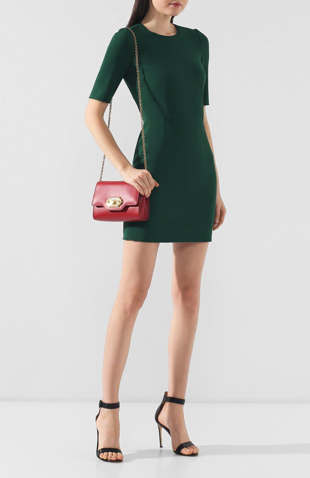 Сумка Welcome Dolce & Gabbana красная цвета   Фото №2