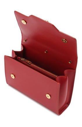 Сумка Welcome Dolce & Gabbana красная цвета   Фото №4