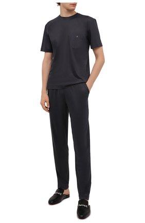 Мужские домашние брюки ZIMMERLI темно-серого цвета, арт. 8520-21092 | Фото 2