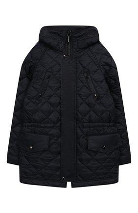 Стеганая куртка с капюшоном | Фото №1