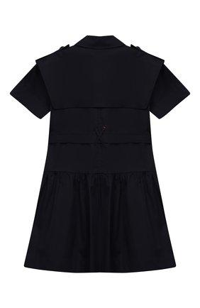 Хлопковое платье с поясом | Фото №2