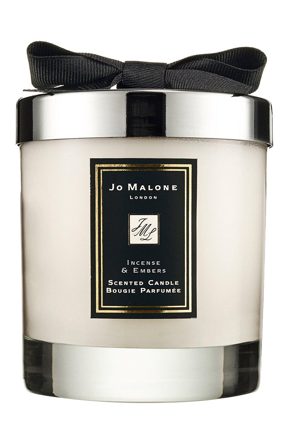 Мужская свеча ароматная incense & embers JO MALONE LONDON бесцветного цвета, арт. L3R3-01 | Фото 1
