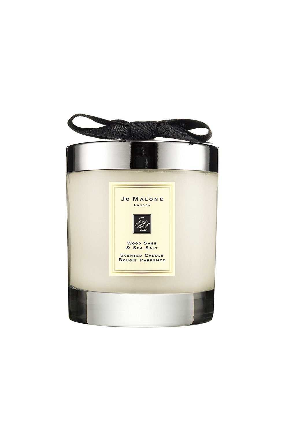 Мужская свеча ароматная wood sage & sea salt JO MALONE LONDON бесцветного цвета, арт. L419-01   Фото 1