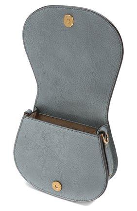 Женская сумка nile small CHLOÉ голубого цвета, арт. CHC17US301HEU | Фото 4