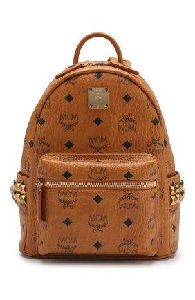 Женский рюкзак stark MCM коричневого цвета, арт. MMK 6SVE41 | Фото 1
