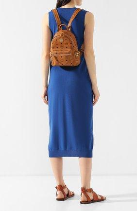 Женский рюкзак stark MCM коричневого цвета, арт. MMK 6SVE41 | Фото 2