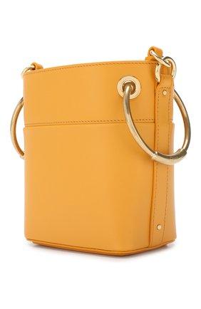 Сумка Roy Bucket mini Chloé желтая цвета | Фото №3
