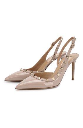 Лаковые туфли Valentino Garavani Rockstud | Фото №1