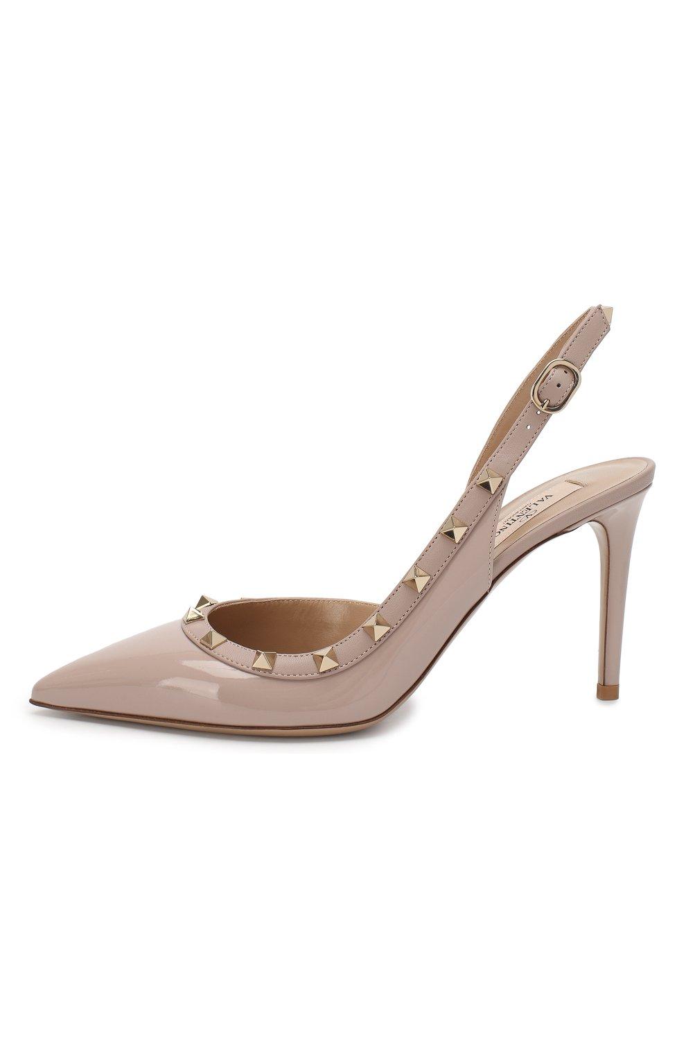 Лаковые туфли Valentino Garavani Rockstud | Фото №3