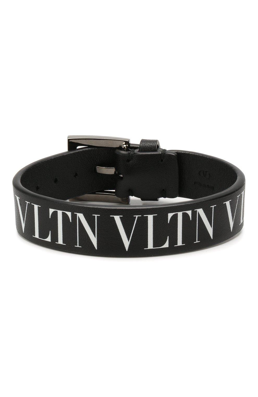 Кожаный браслет Valentino Garavani VLNT | Фото №1