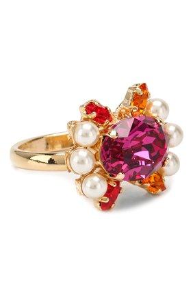 Кольцо с отделкой кристаллами Swarovski   Фото №1