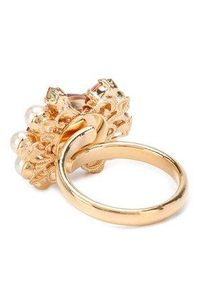 Кольцо с отделкой кристаллами Swarovski   Фото №2