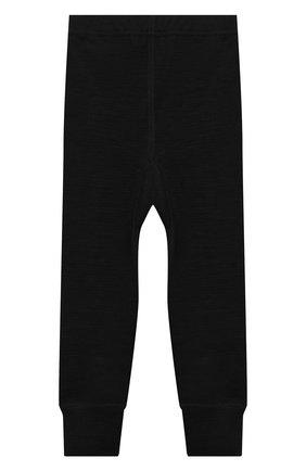 Детские шерстяные брюки NORVEG черного цвета, арт. 4U042RU-002 | Фото 2