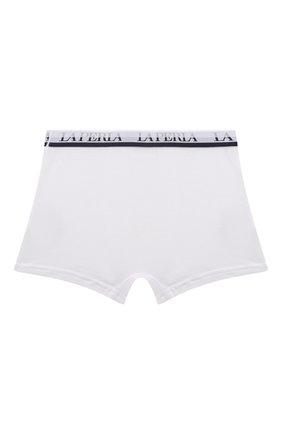 Детские боксеры из вискозы LA PERLA белого цвета, арт. 54388/2A-6A | Фото 2