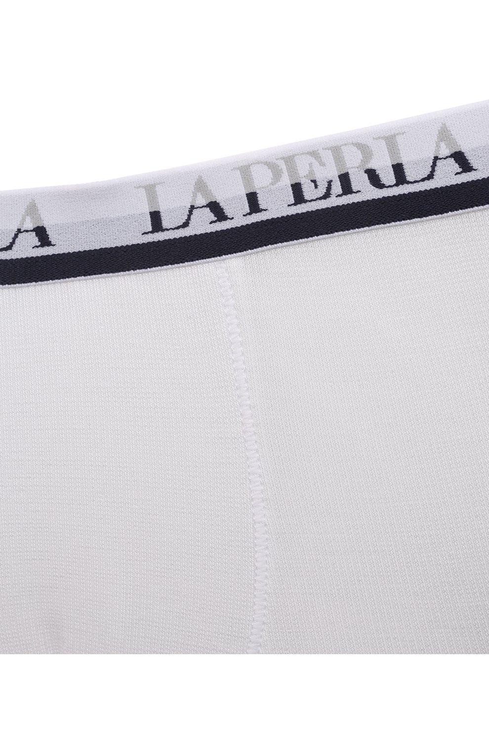 Детские боксеры из вискозы LA PERLA белого цвета, арт. 54388/2A-6A | Фото 3