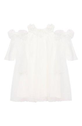 Хлопковое мини-платье | Фото №1