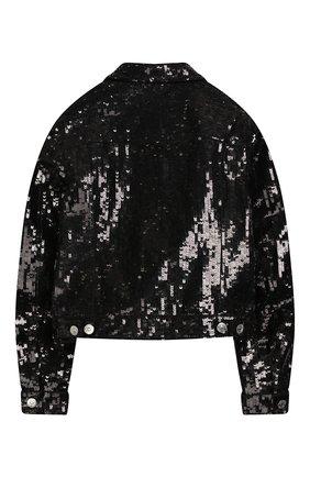 Джинсовая куртка с пайетками | Фото №2
