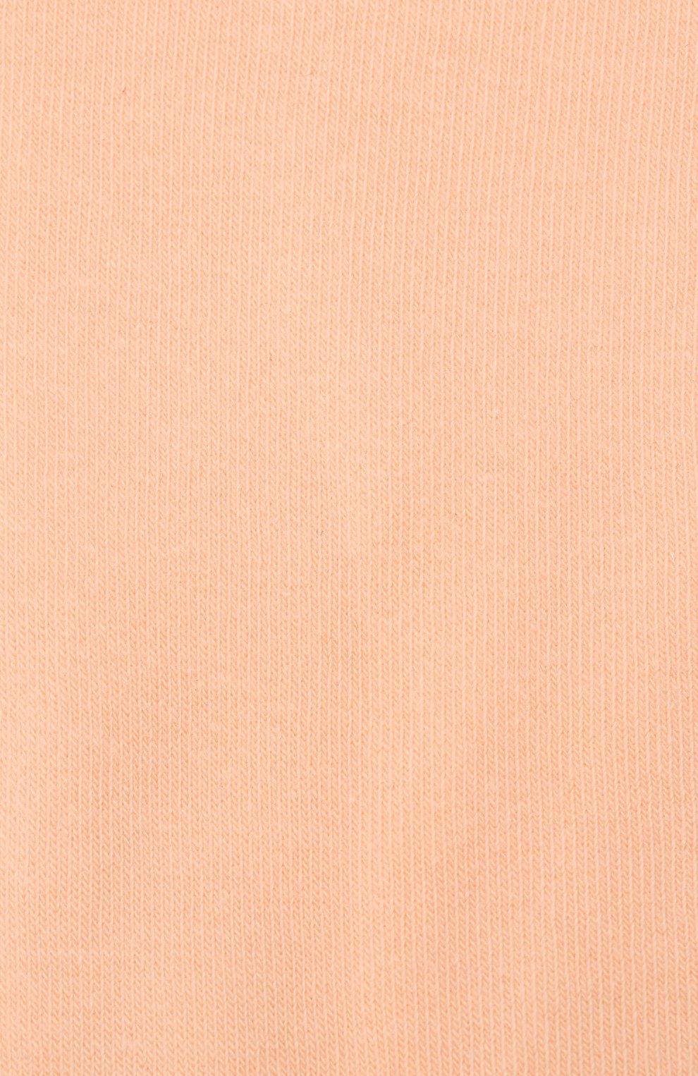 Детские хлопковые гольфы MARNI бежевого цвета, арт. M002B9-M00EH | Фото 2