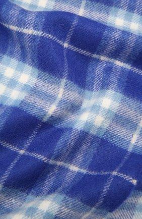Детский кашемировый шарф BURBERRY синего цвета, арт. 8007265   Фото 2