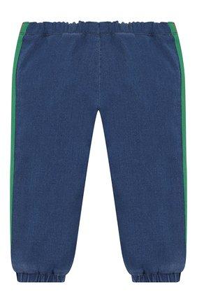 Детские джинсовые джоггеры GUCCI синего цвета, арт. 547187/XJAHD | Фото 2