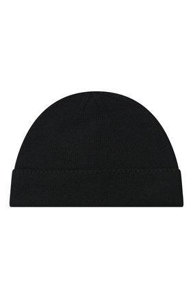 Детского шерстяная шапка GUCCI черного цвета, арт. 459431/4K638 | Фото 2