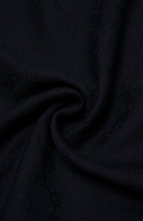 Детский платок из шерсти и шелка GUCCI синего цвета, арт. 418221/4K646 | Фото 2