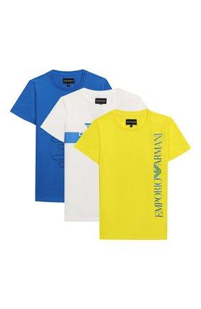 Комплект из трех хлопковых футболок | Фото №1
