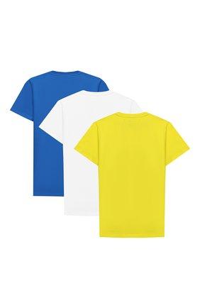 Комплект из трех хлопковых футболок | Фото №2