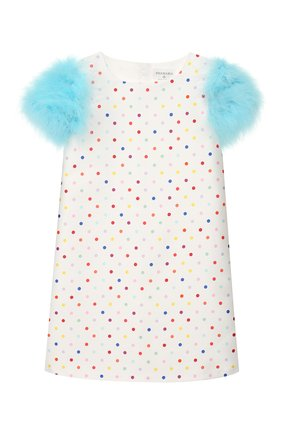 Хлопковое мини-платье   Фото №1