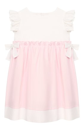 Женский хлопковое платье IL GUFO розового цвета, арт. P19VM526C0046/24M | Фото 1