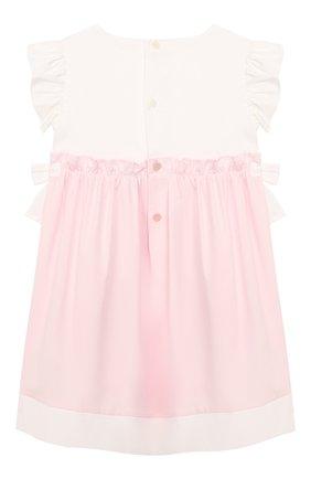 Женский хлопковое платье IL GUFO розового цвета, арт. P19VM526C0046/24M | Фото 2
