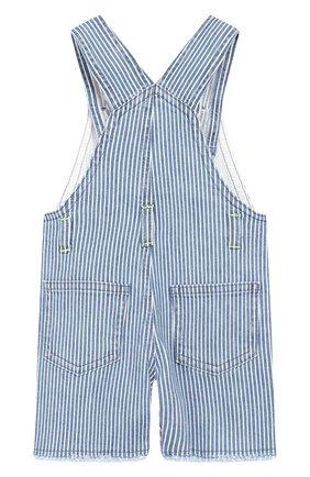 Детский джинсовый комбинезон IL GUFO синего цвета, арт. P19ST052J1000/3M-9M | Фото 2