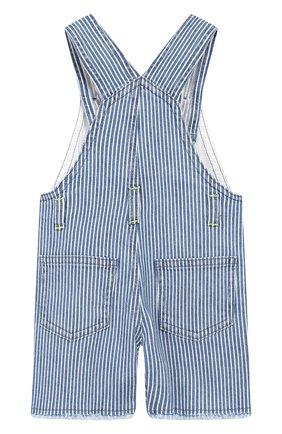 Детский джинсовый комбинезон IL GUFO синего цвета, арт. P19ST052J1000/12M-18M | Фото 2