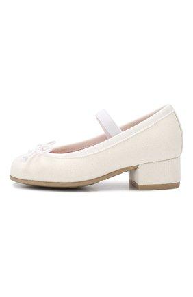 Кожаные туфли с перемычкой | Фото №2