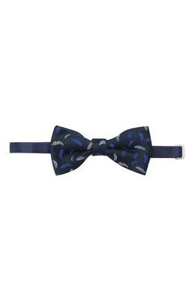 Детский галстук-бабочка ALETTA синего цвета, арт. NA99114B | Фото 1