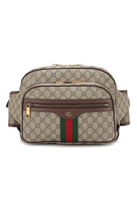 Текстильная поясная сумка Ophidia   Фото №1