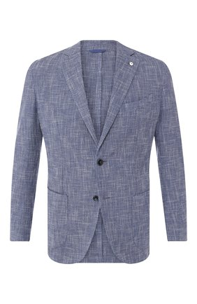 Пиджак из смеси шерсти и хлопка | Фото №1