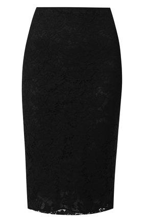 Кружевная юбка-миди | Фото №1