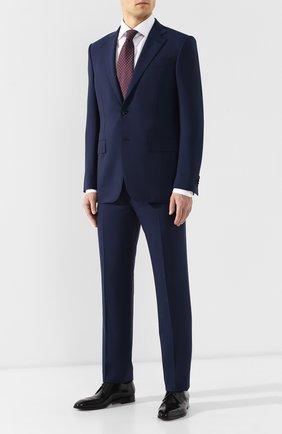 Мужской шерстяной костюм ERMENEGILDO ZEGNA синего цвета, арт. 511504/221225 | Фото 1